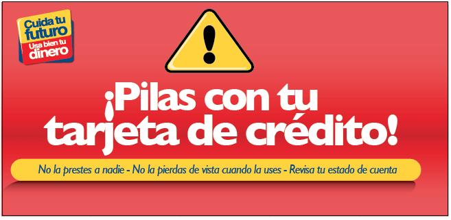 alerta tarjeta credito