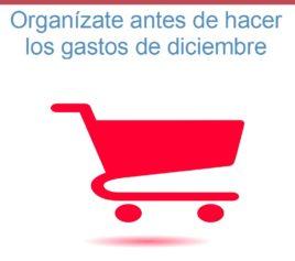 Organízate antes de hacer los gastos de diciembre