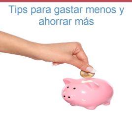 Mira estos tips que te ayudarán a gastar menos y ahorrar más